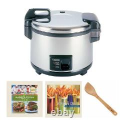 Zojirushi NYC-36 20-Cup (Uncooked) Commercial Rice Cooker and Warmer Bundle
