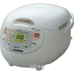 Zojirushi Neuro Fuzzy 10-Cup Premium White Rice Cooker with Built-In Timer