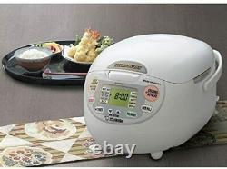 Zojirushi Neuro Fuzzy 5.5-Cup Premium White Rice Cooker with Built-In Timer- NIB