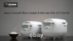 Zojirushi Neuro Fuzzy Rice Cooker & Warmer NS-ZCC10/18