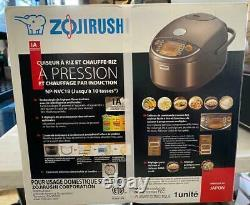 Zojirushi Np-nvc18 Induction Heating Pressure Rice Cooker & Warmer (10 Cups)