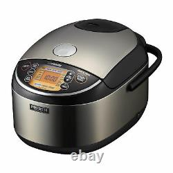 Zojirushi Pressure Induction Heating 10 Cup Rice Cooker Warmer with Spoon Bundle