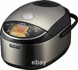 Zojirushi Pressure Induction Heating Rice Cooker & Warmer, 10 Cup NP-NWC18