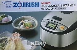 Zojirushi Rice Cooker And WarmerNS-LAC05, Up To 3 Cups