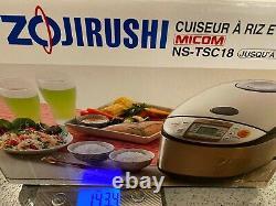 Zojirushi Rice Cooker Warmer Cake 10-Cup 1.8L NS-TSC18