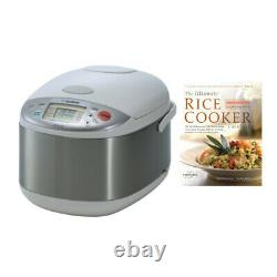 Zojirushi Umami Micom 10-Cup (Uncooked) Rice Cooker and Warmer and Cookbook