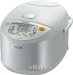 Zojirushi Umami Micom Rice Cooker 10 Cup Pearl White